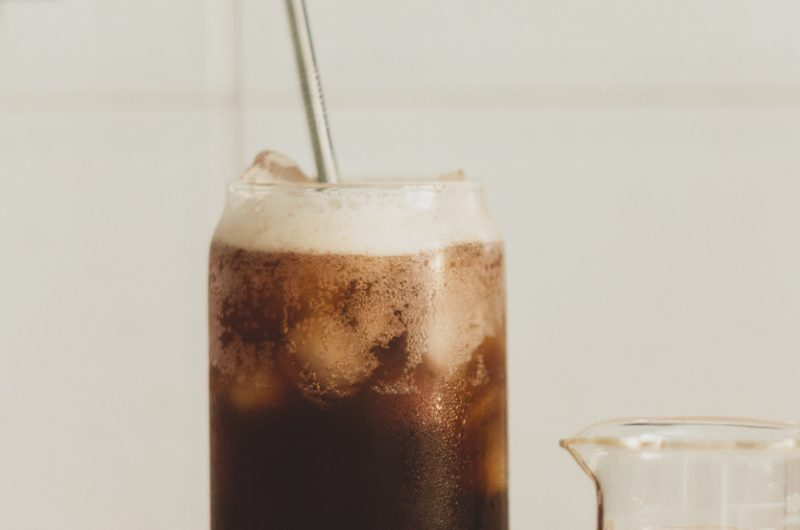 Iced Coffee Soda