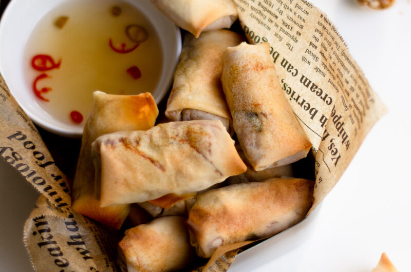 Mini Baked Spring Roll