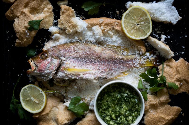 Salt-Baked Fish