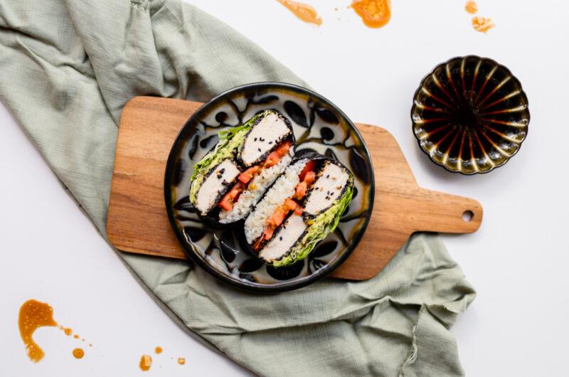 Avocado Tofu Onigirazu