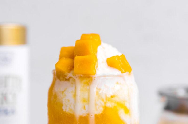 Thai Mango Sticky Rice Shake