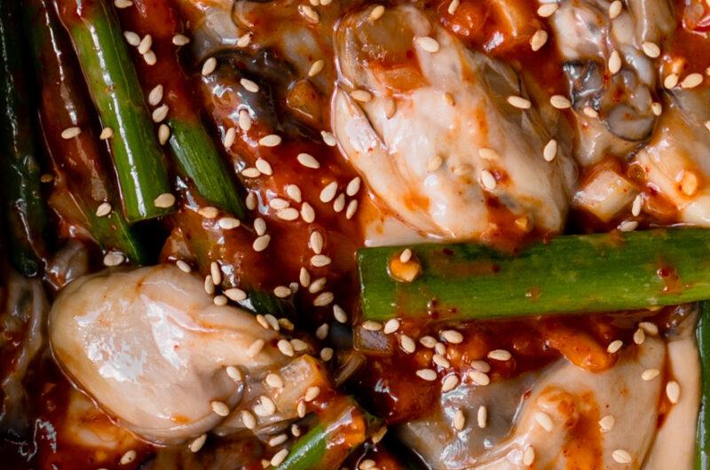 Gulmuchim (Spicy Marinated Oyster)