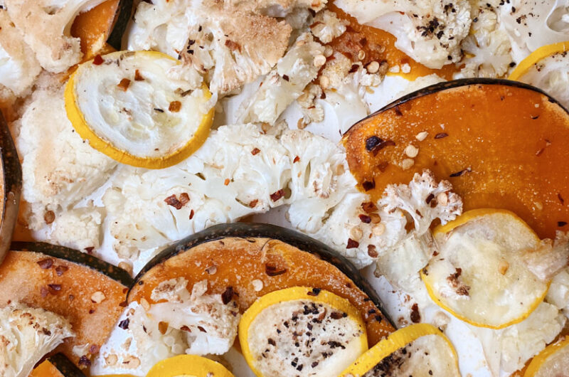 Garlic Oven Roasted Vegetable(s)
